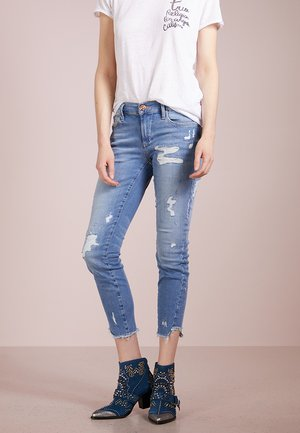 HALLE - Slim fit jeans - blue denim