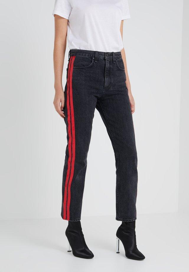 HALLE - Skinny džíny - black