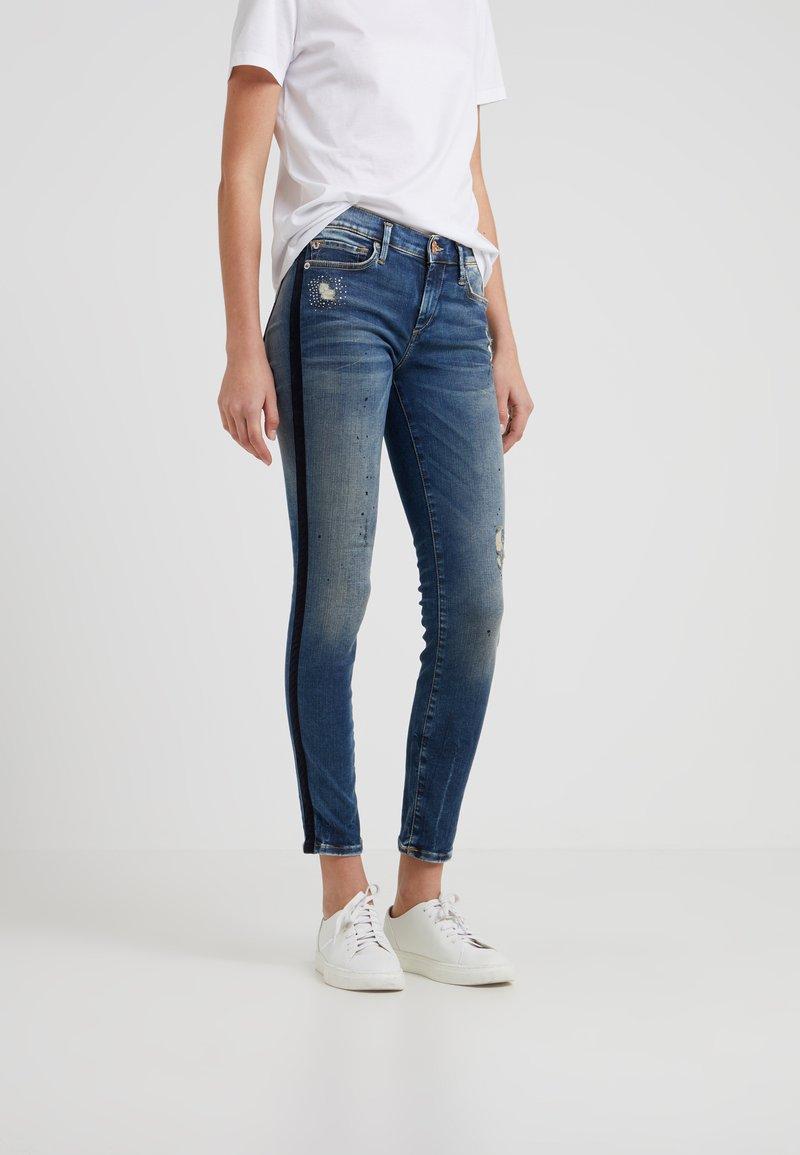 True Religion - HALLE  - Jeans Skinny Fit - blue denim