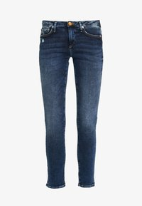 True Religion - NEW HALLE CARBON WASH WORN IN - Jeans Skinny Fit - blue - 3