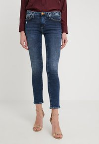 True Religion - NEW HALLE CARBON WASH WORN IN - Jeans Skinny Fit - blue - 0