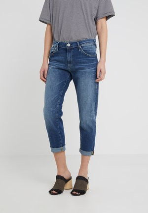 NEW BOYFRIEND STRETCH - Relaxed fit jeans - blue