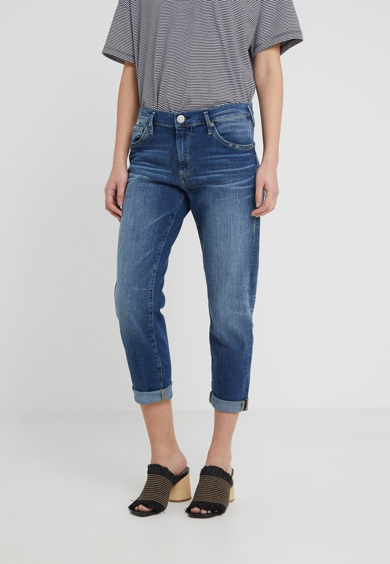 True Religion - NEW BOYFRIEND STRETCH - Jeans Relaxed Fit - blue
