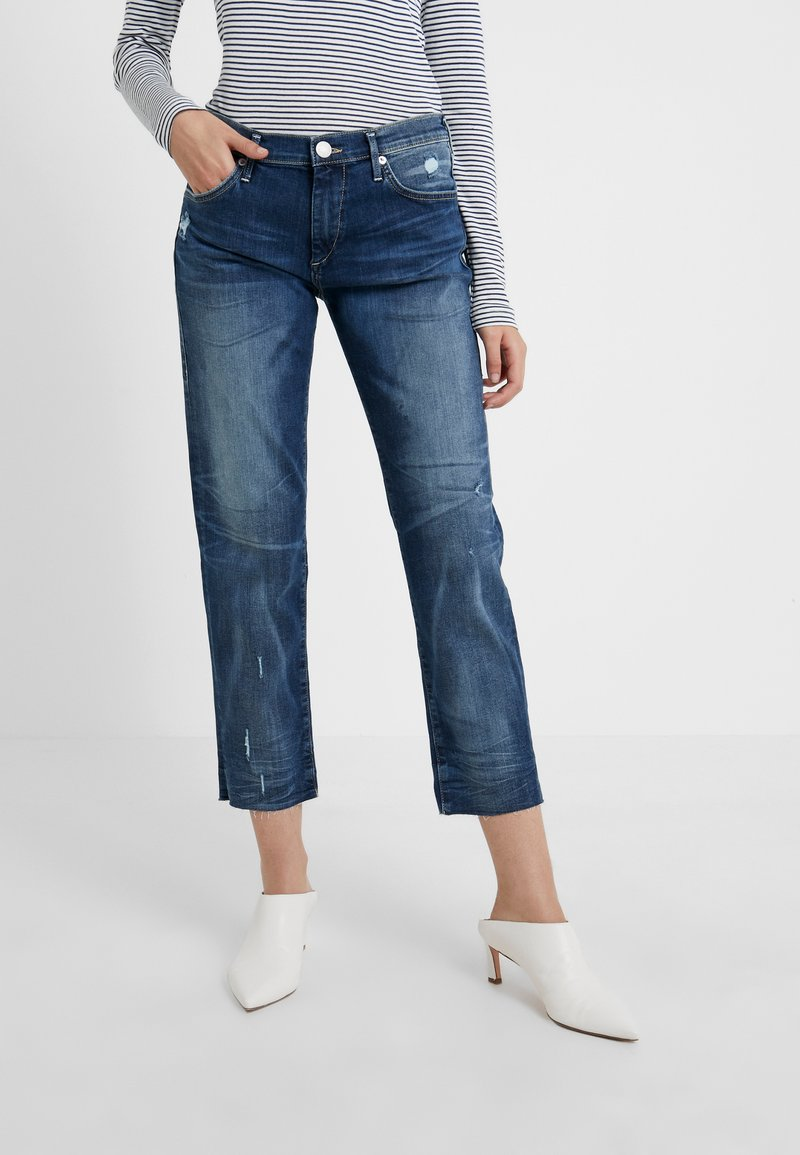 True Religion - NEW LIV COMFORT - Slim fit jeans - blue