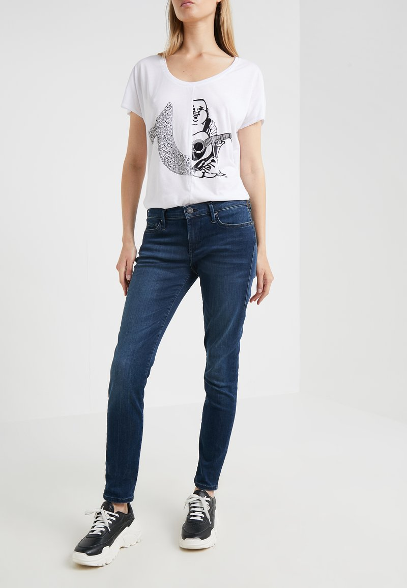 True Religion - HALLE - Jeans Skinny Fit - blue