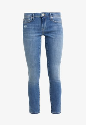 NEW HALLE SUPER  - Jeansy Skinny Fit - blue