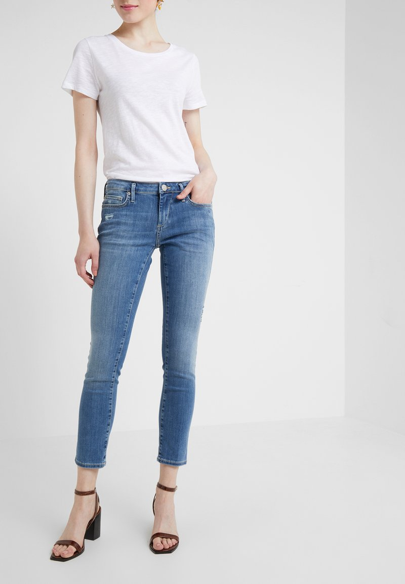 True Religion - NEW HALLE SUPER  - Skinny džíny - blue