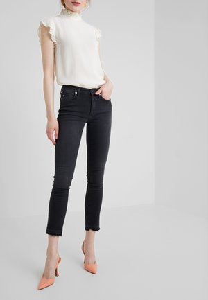 HALLE MODFIT - Jeansy Skinny Fit - black