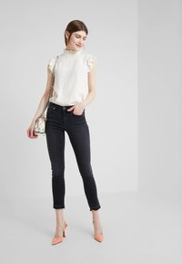 True Religion - HALLE MODFIT - Jeans Skinny Fit - black