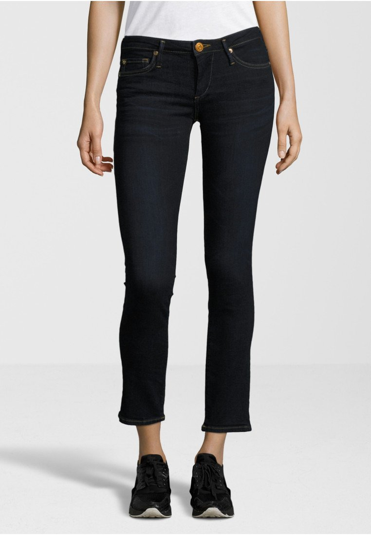 True Religion - NEW HALLE CROPPED - Jeans Skinny Fit - dark blue