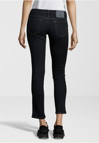 True Religion - NEW HALLE CROPPED - Jeans Skinny Fit - dark blue - 1