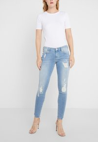 True Religion - HALLE LACEY  - Jeans Skinny Fit - blue denim - 0