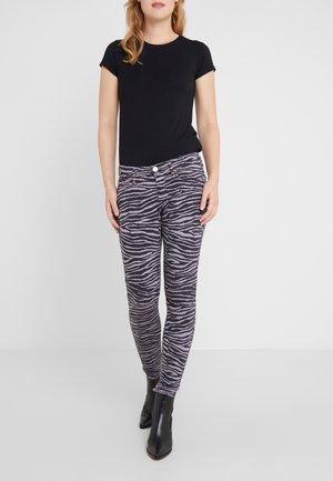 HALLE ZEBRA  - Jeans Skinny Fit - grey