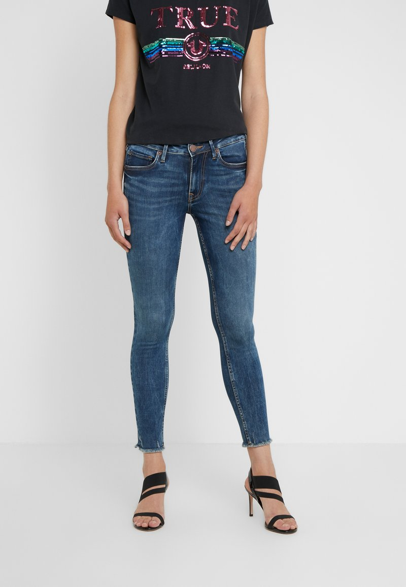True Religion - JENNIE BANDS DESTROY - Jeans Skinny Fit - blue