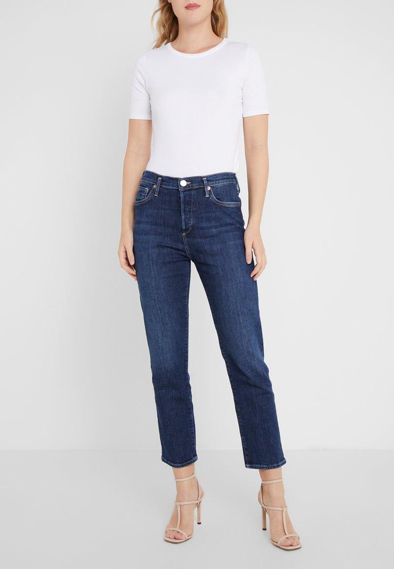 True Religion - HIGHRISE COBALT  - Slim fit jeans - blue