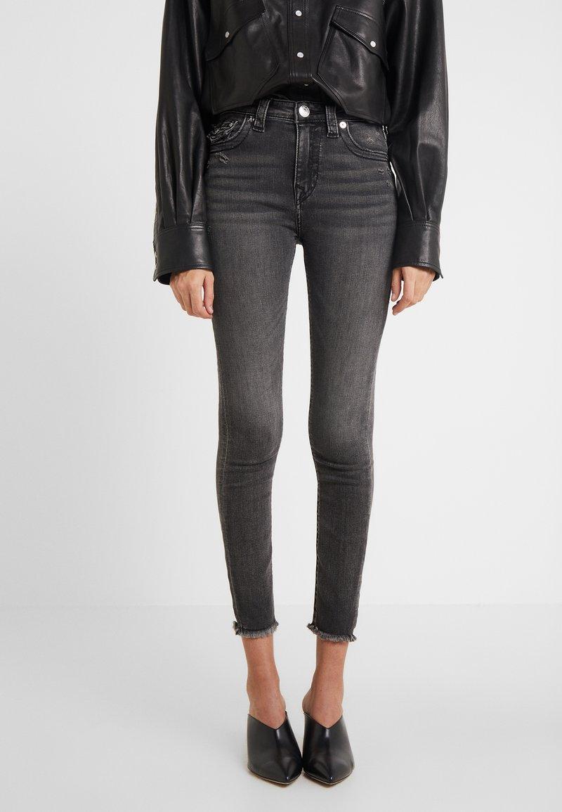 True Religion - HALLE HIGH RISE SMOKY  - Jeans Skinny Fit - dark grey