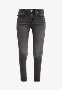 True Religion - HALLE HIGH RISE SMOKY  - Jeans Skinny Fit - dark grey - 4