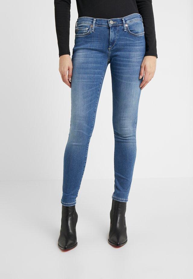 HALLE - Jeans Skinny Fit - deep blue