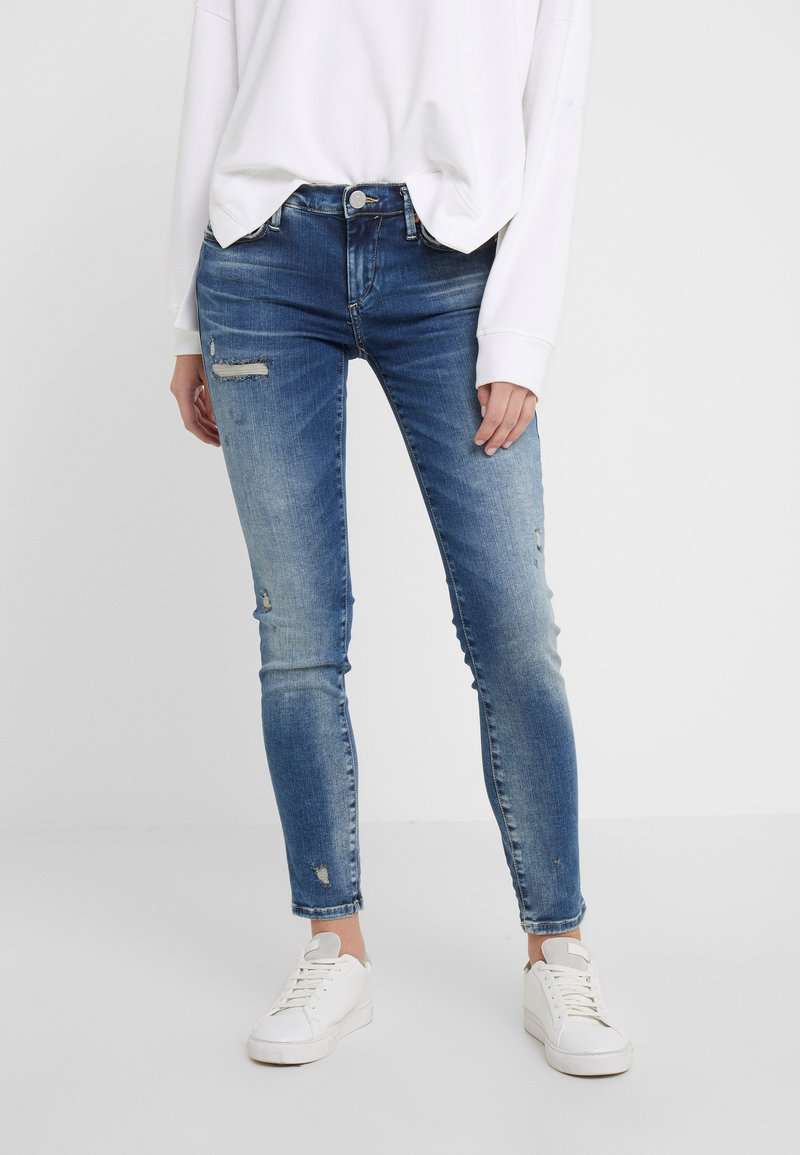 True Religion - HALLE LACEY - Jeans Skinny Fit - deep blue