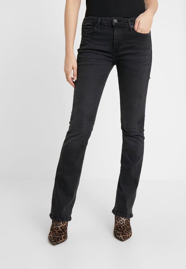 NEW HALLE - Jeans Skinny Fit - black