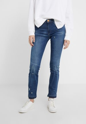 HALLE MODFIT  - Slim fit jeans - deep blue