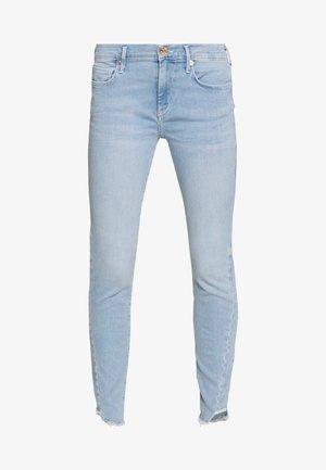 HALLE TRIANGLE - Skinny džíny - light blue denim