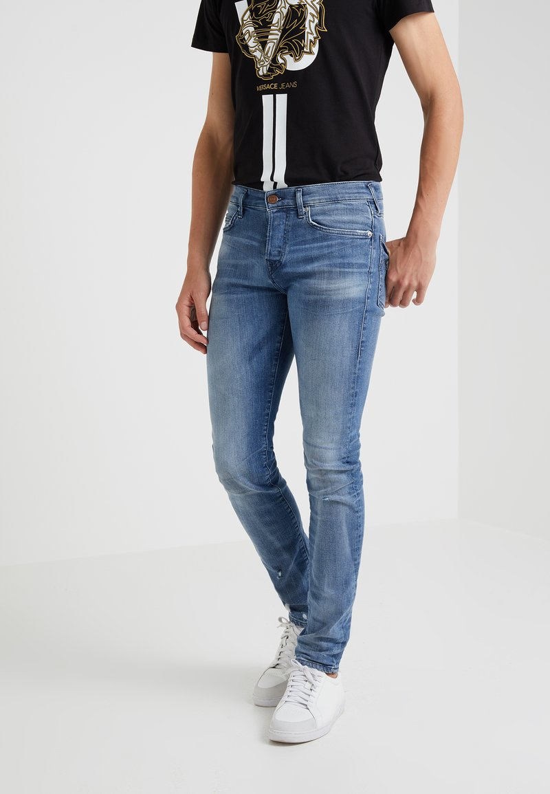True Religion - ROCCO COMFORT WASH - Slim fit jeans - blue denim