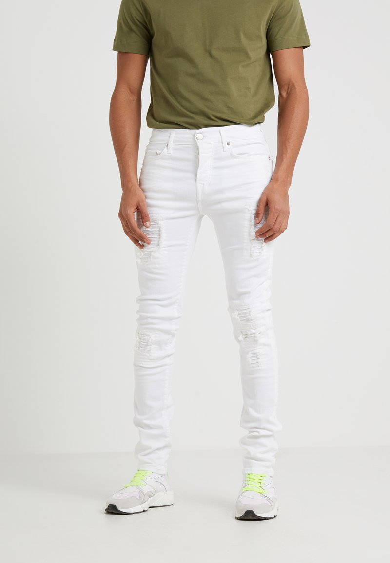 True Religion - ROCCO SUPERSTRETCH - Slim fit jeans - offwhite
