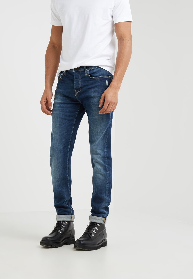 True Religion - ROCCO SUPERSTRETCH - Jeans Slim Fit - blue denim