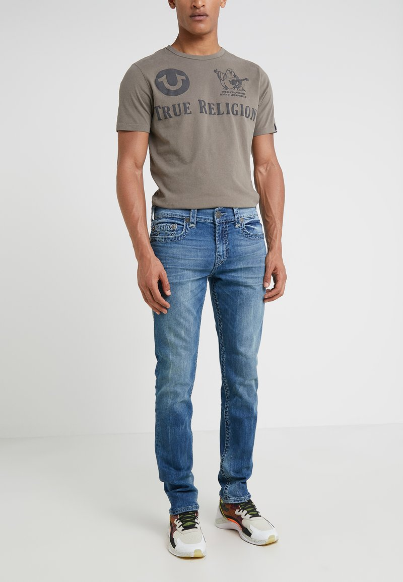 True Religion - ROCCO SUPER - Slim fit jeans - blue denim
