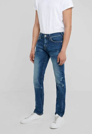 ROCCO - Džíny Slim Fit - dark-blue denim