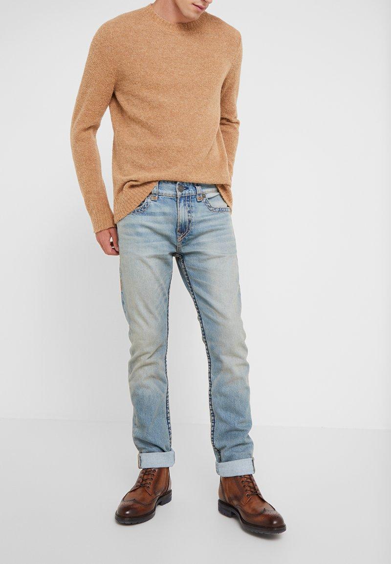 True Religion - ROCCO SUPER  - Jeans slim fit - raw fiber