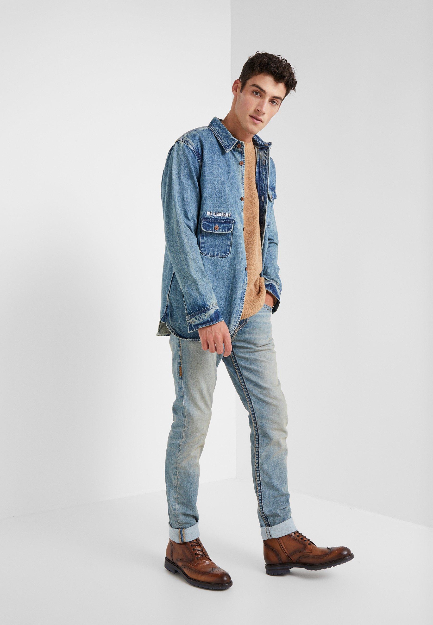 True Religion Rocco Super - Jeans Slim Fit Raw Fiber
