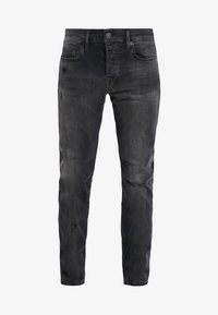 True Religion - ROCCO SUPER STRETCH - Džíny Slim Fit - black - 4