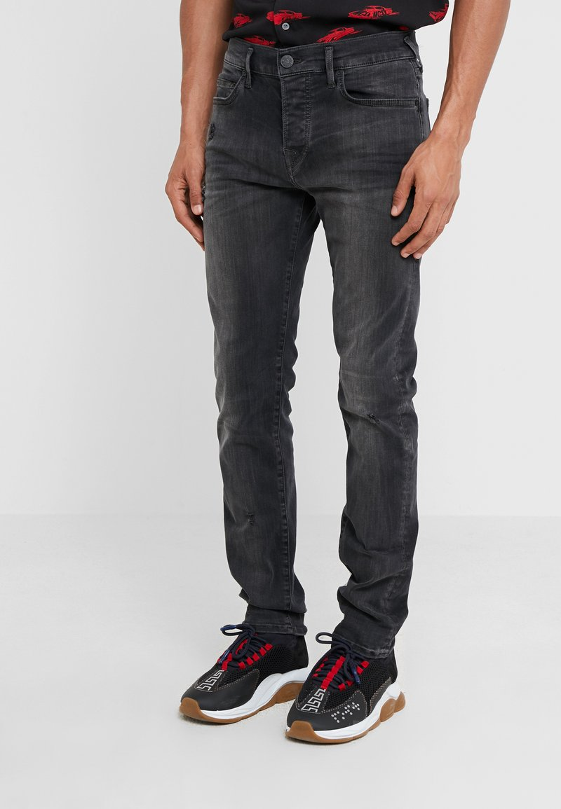 True Religion - ROCCO SUPER STRETCH - Džíny Slim Fit - black