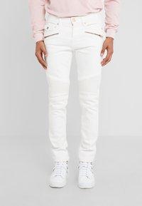 True Religion - ROCCO BIKER - Jeans slim fit - white - 0