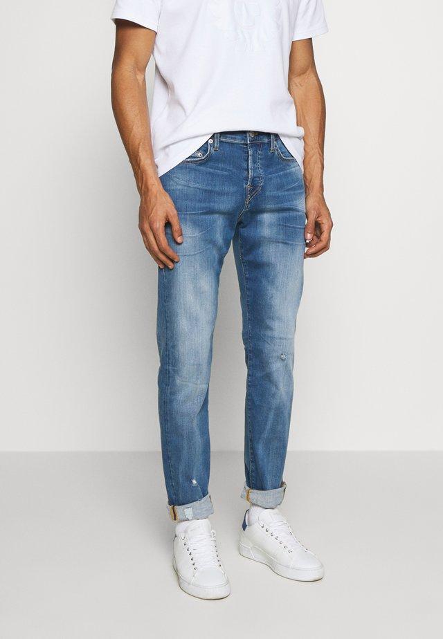 ROCCO - Džíny Straight Fit - blue denim