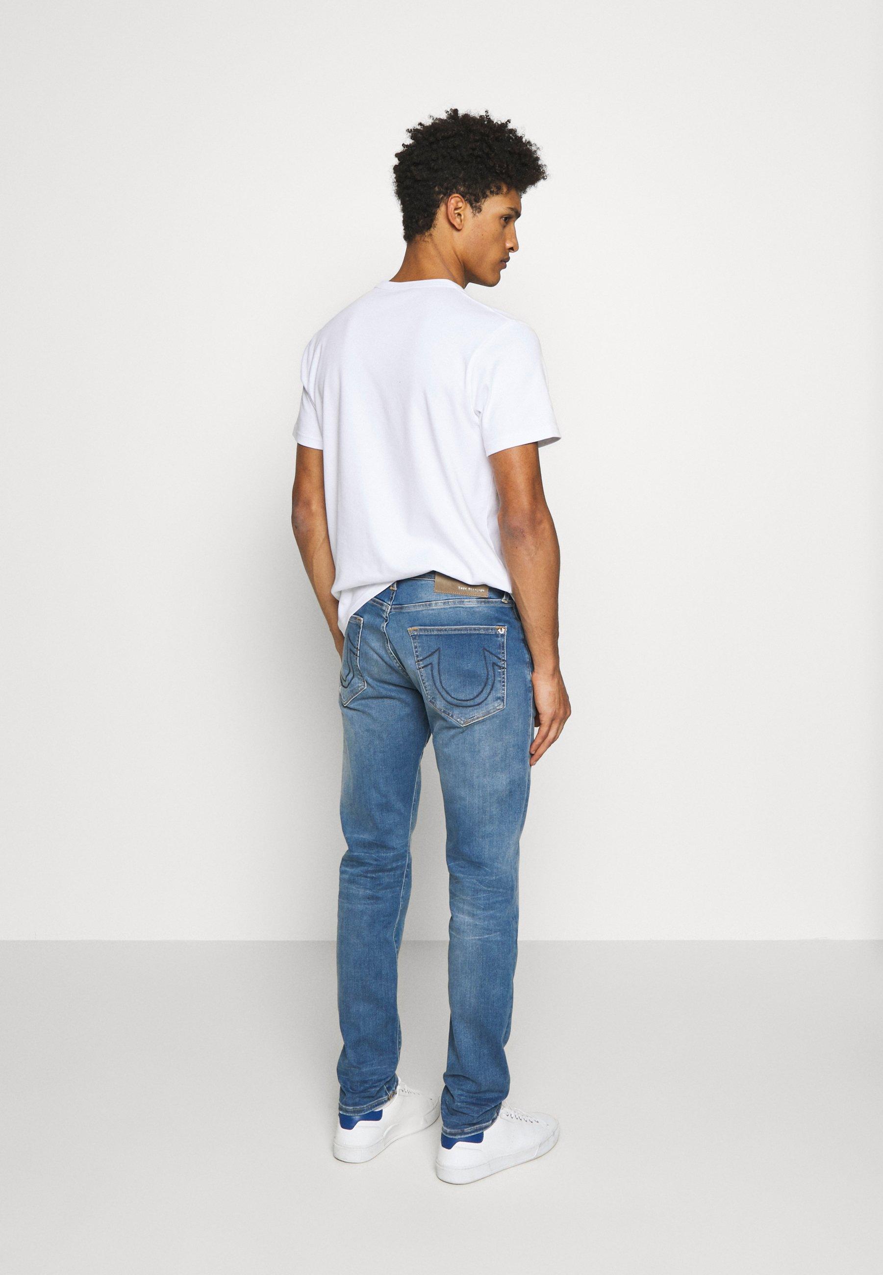 True Religion Rocco - Straight Leg -farkut Blue Denim