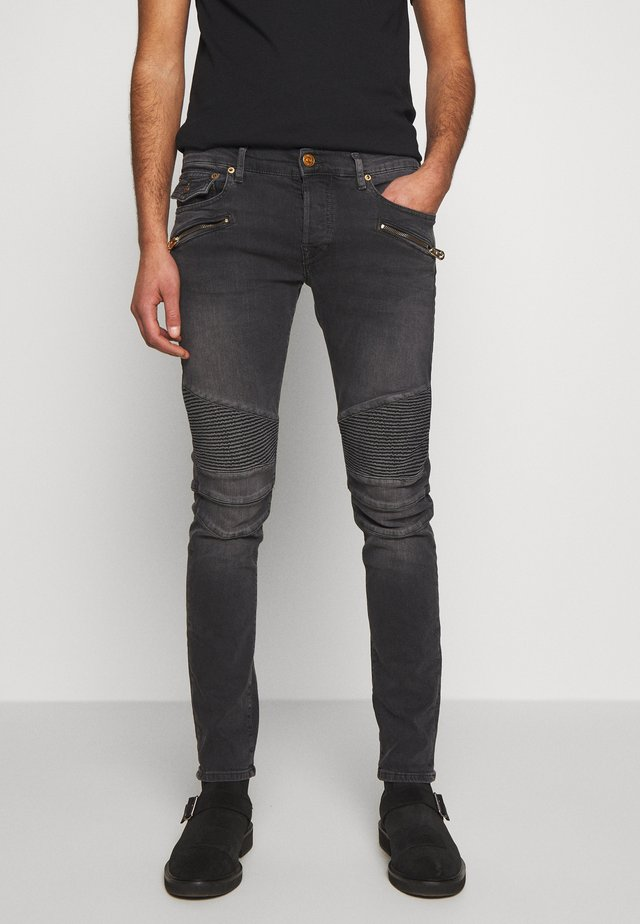 BIKER ROCCO - Jeans Skinny Fit - denim