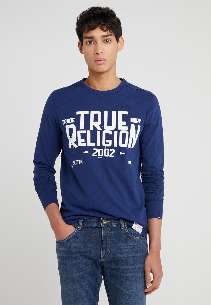 True Religion - Langarmshirt - navy