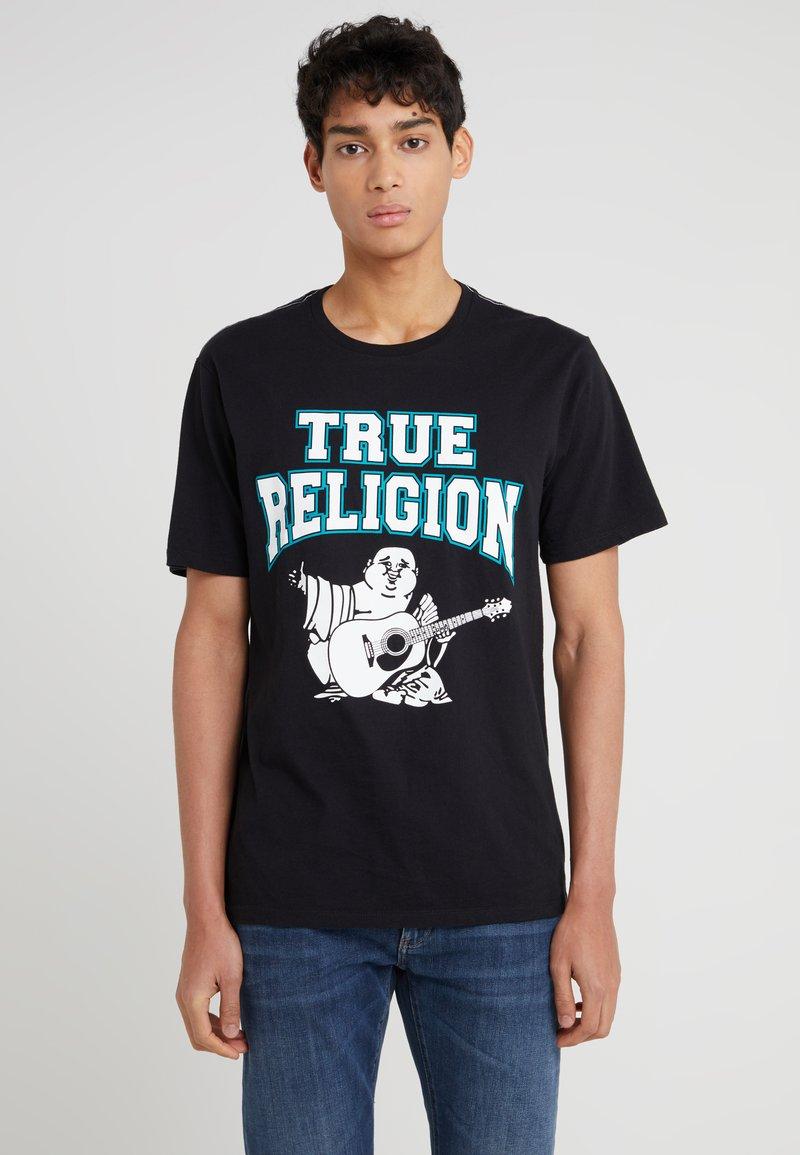 True Religion - FLOCK BUDDHA - T-Shirt print - black