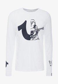 True Religion - LOGO  - Camiseta de manga larga - white - 4