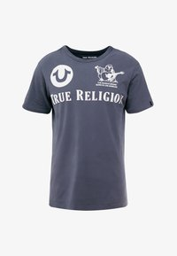 True Religion - CREW - T-shirts med print - dress blue - 4