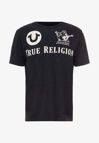 True Religion - CREW - Triko spotiskem - black - 4