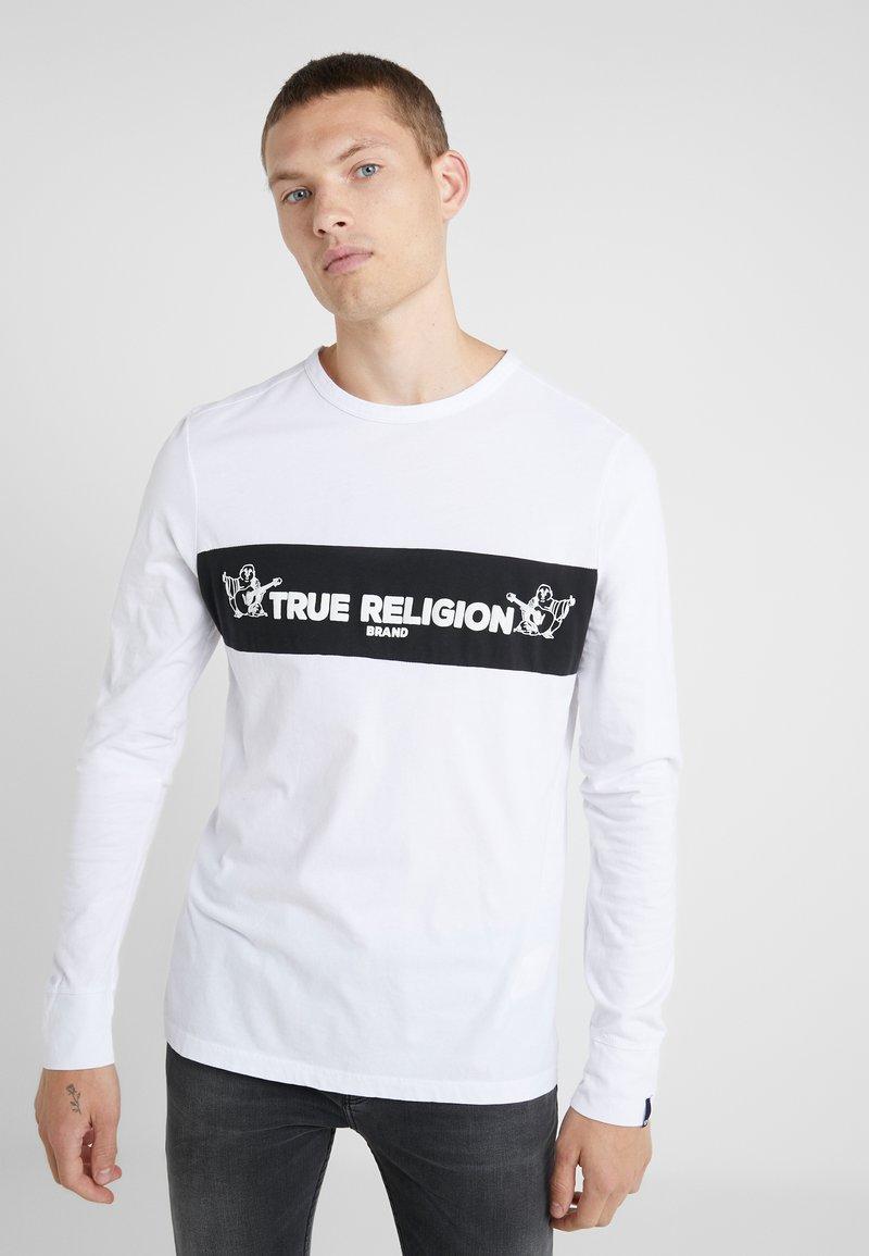 True Religion - CREW  - Topper langermet - white