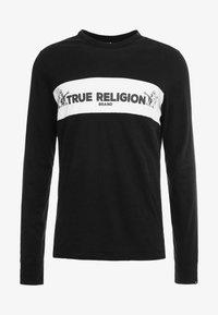 True Religion - CREW  - Top sdlouhým rukávem - black - 3