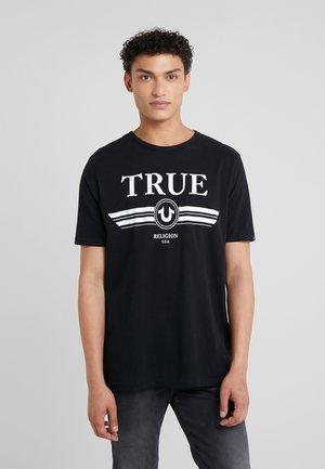 BASIC TRUCCI - Triko spotiskem - black