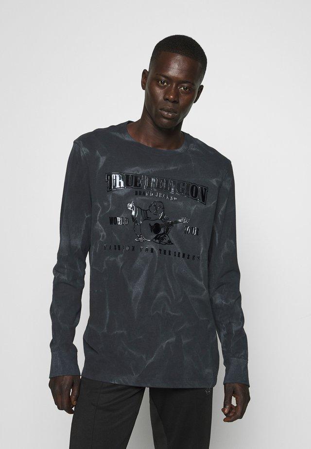CREW NECK SEASONAL BUDDHA - Pitkähihainen paita - black