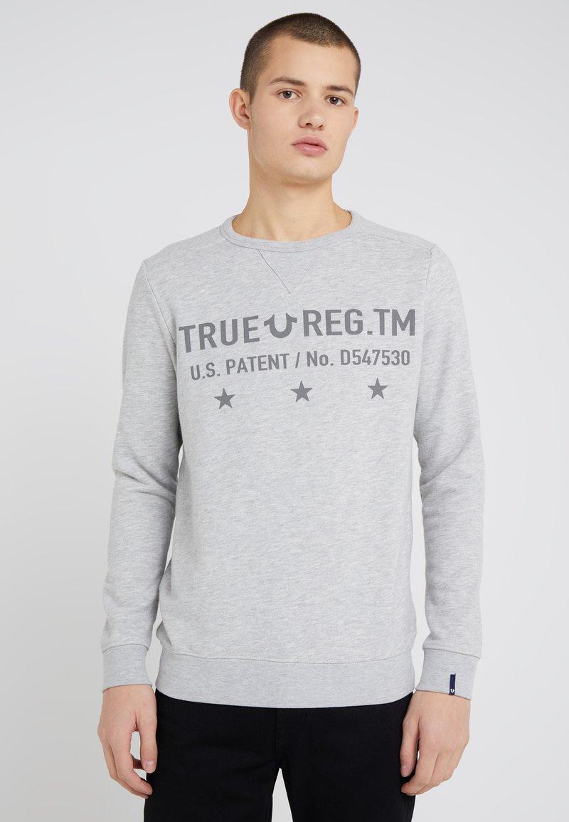 True Religion - Sudadera - grey marl