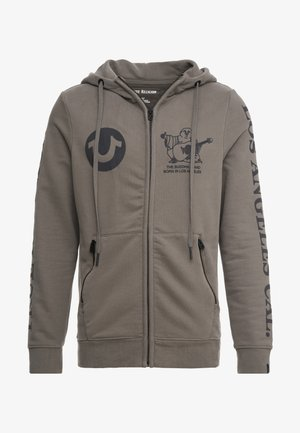 HOODED ZIP - Hettejakke - dusty